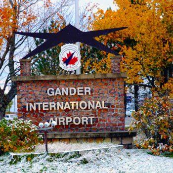 Gander International Airport.